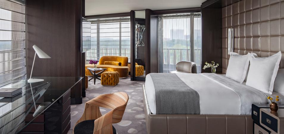 Дизайн спальни в частном доме: множество идей оформления идеальных интерьеров