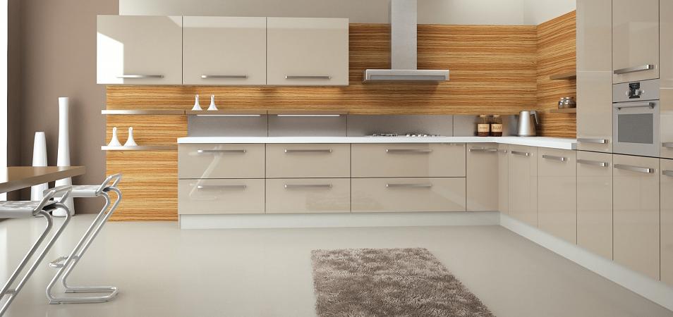 Достоинства и особенности акриловых кухонь
