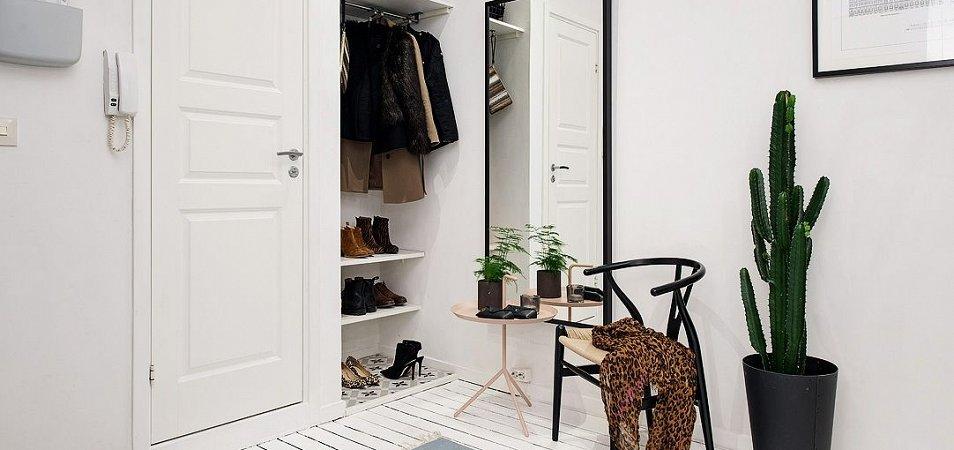 Идеи дизайна для прихожей в скандинавском стиле