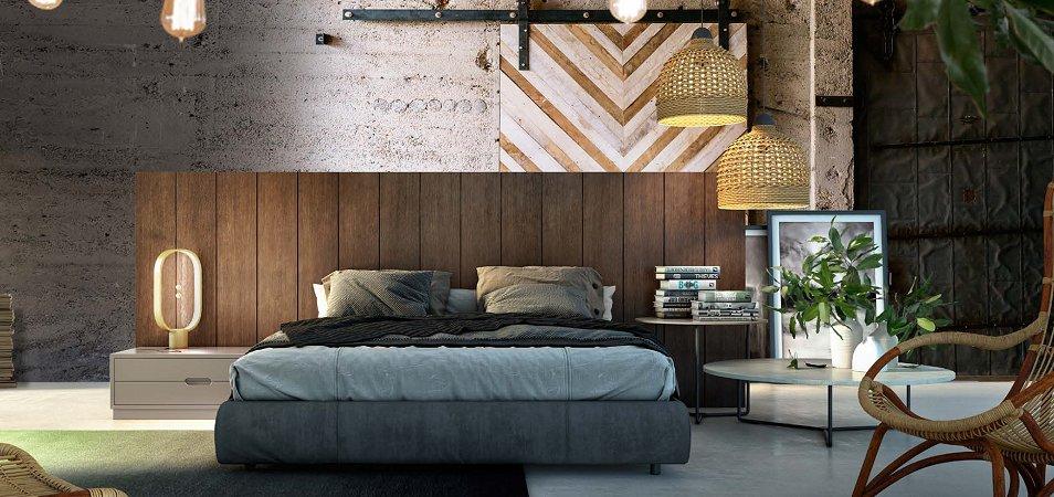 Спальня в эко стиле: идеи, советы по оформлению
