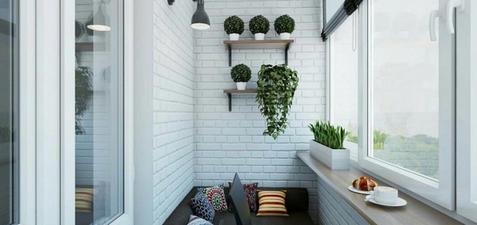 Идеи для оформления балкона или лоджии (200 фото)