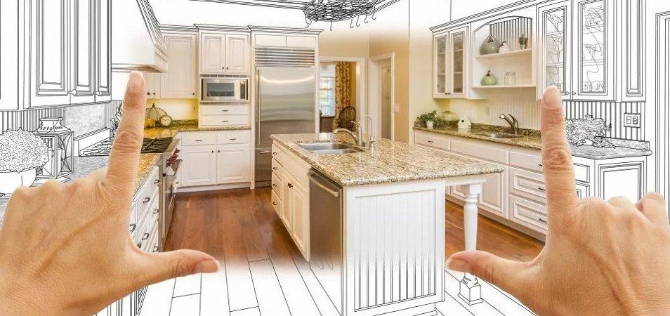 Как самостоятельно сделать замер кухни?