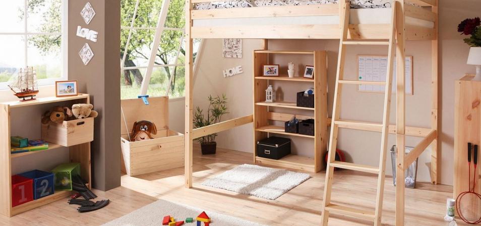 Кровать-чердак: экономим пространство квартиры с помощью оригинальной и стильной мебели