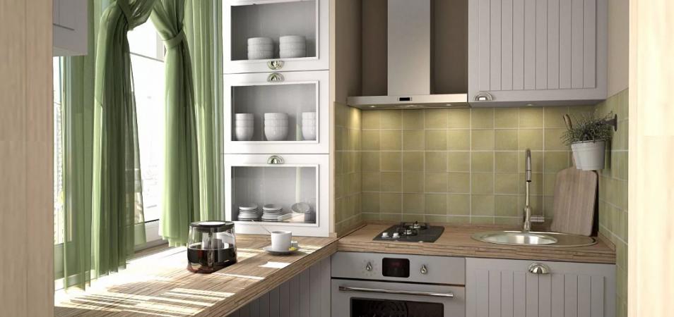 Кухня 6 м2: как ее сделать комфортной?