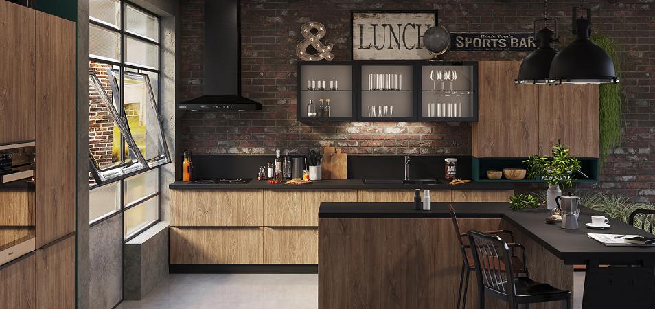 Кухня в стиле лофт: особенности и правила выбора