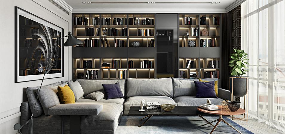 Маленькая гостиная больше не проблема. 16 идей для дизайна