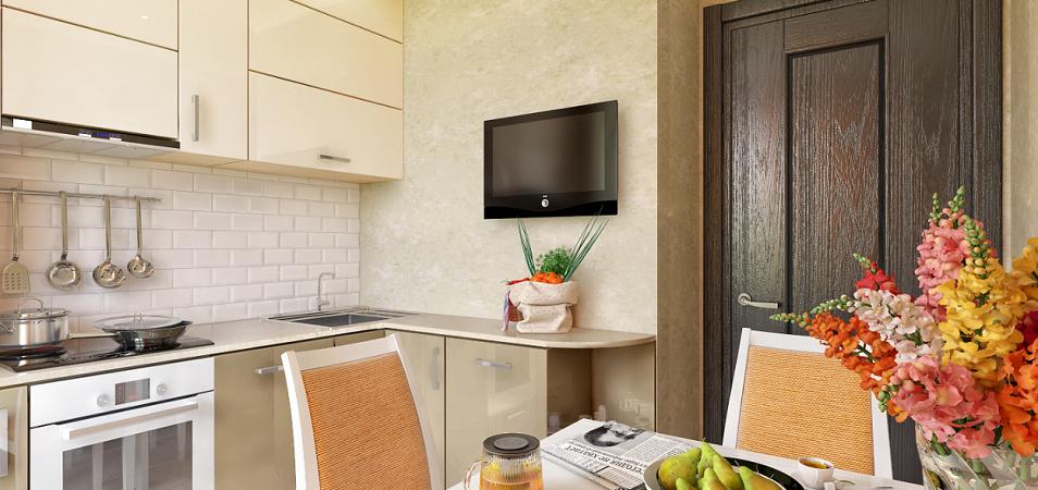 Маленькая кухня – большое пространство для воплощения дизайнерских идей