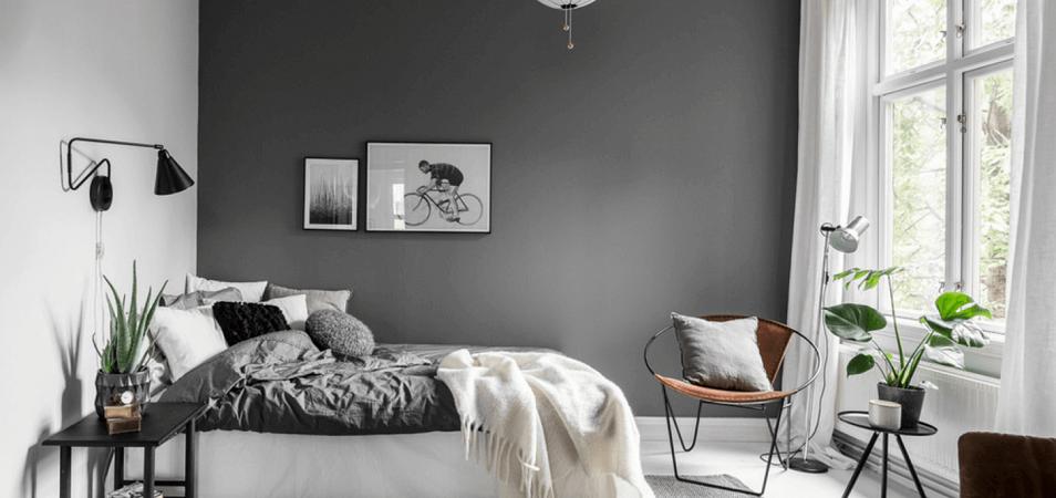 Модный тренд: все оттенки серого для оформления стен