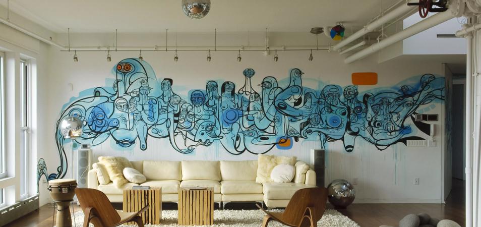 Необычный декор стен: 44 идеи на заметку
