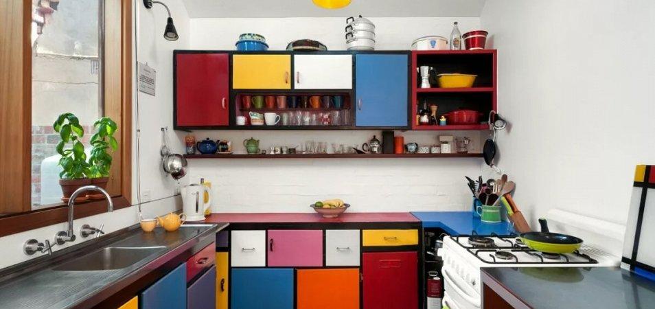 Как определится с цветом кухни? Светлые, темные, яркие
