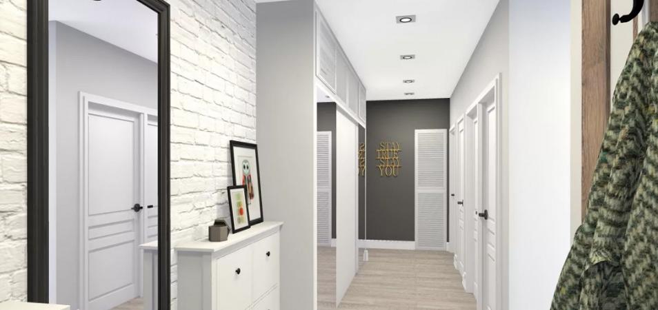 Секреты грамотного дизайна узкого коридора: лучшие фото идеи