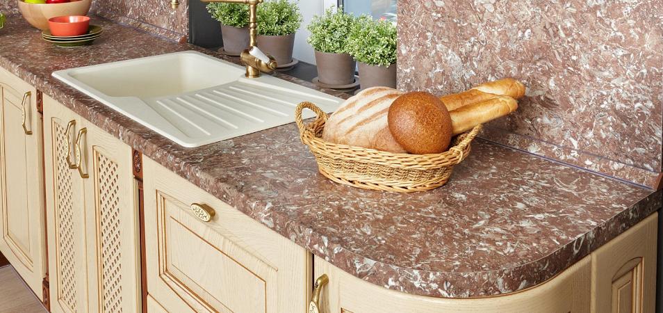 Ширина кухонных столешниц: какие бывают и как выбрать подходящий вариант