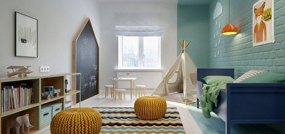 Детская в скандинавском стиле: особенности стиля для комнаты мальчика или девочки, 50+ фото