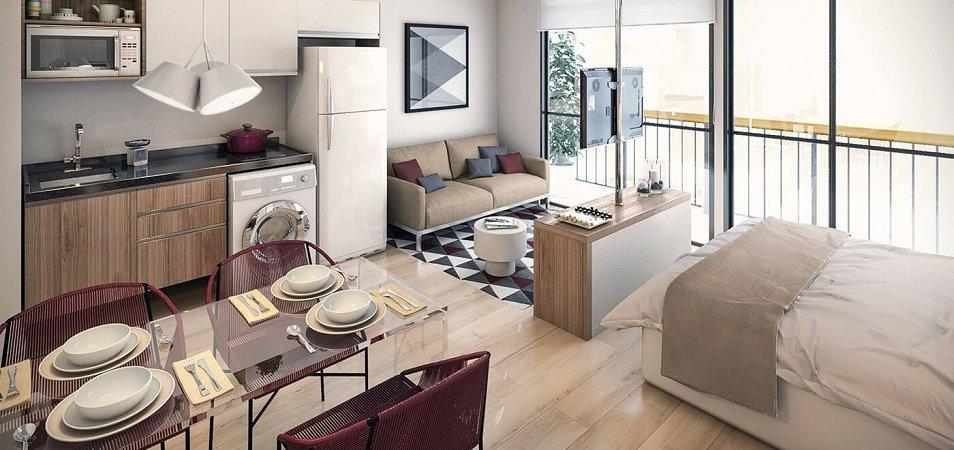 Советы по выбору мебели для квартиры-студии