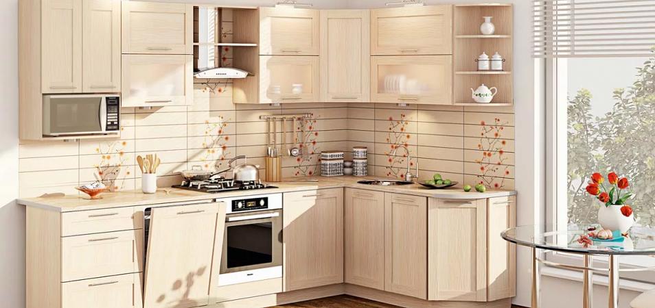 Стандарты кухонного гарнитура