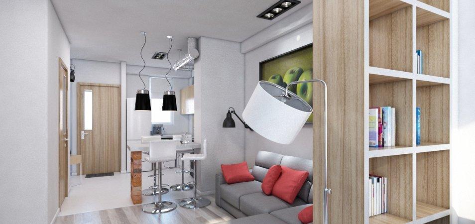 Варианты правильного зонирования квартиры