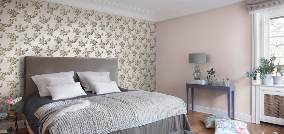 Выбираем обои в спальню: цвет, состав, текстура, стиль