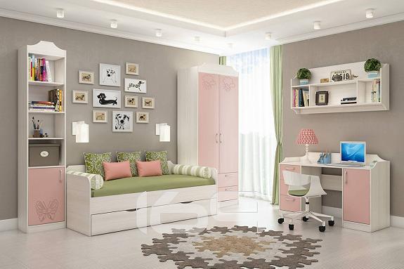 Купить Детская Флауэ-4 Розовый/Сосна Авола в интернет магазине. Цены, фото, описания, характеристики, отзывы, обзоры