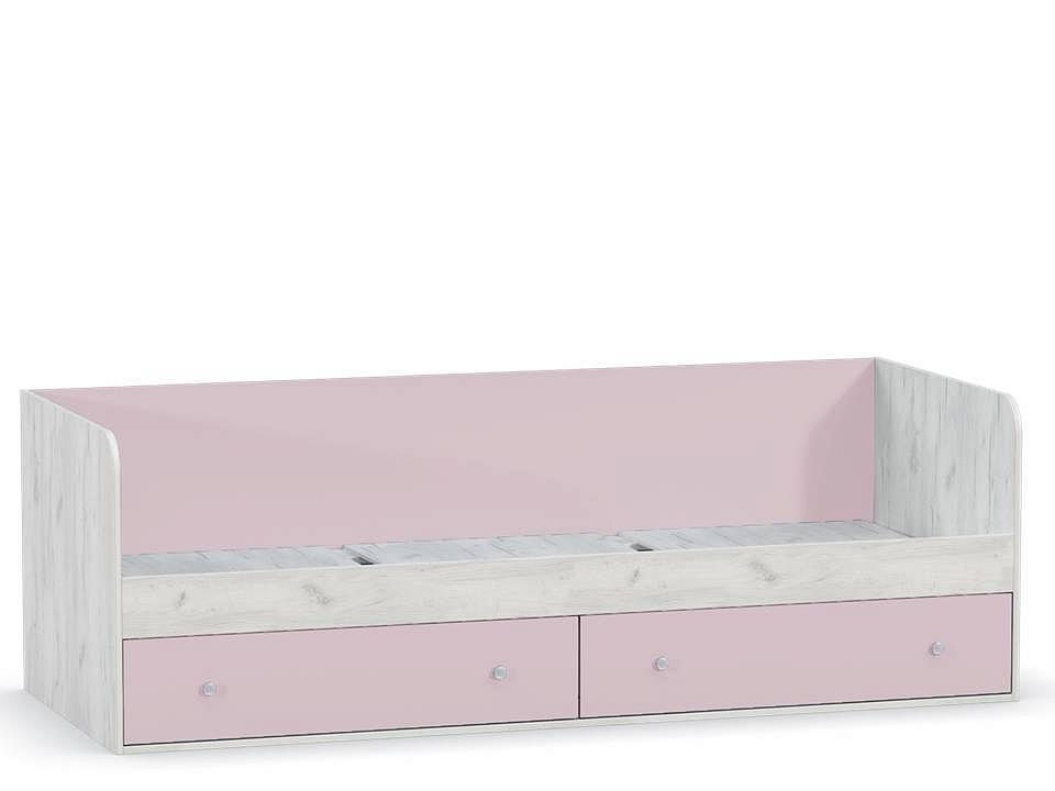 Кровать Тетрис 1 347 Дуб крафт белый/ Лаванда BSBS1