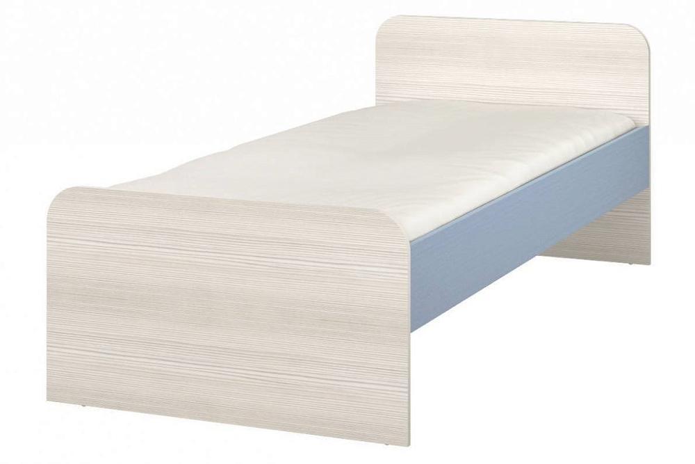 Кровать Флауэ СТЛ.093.27-01 Бирюза/Сосна Авола фото