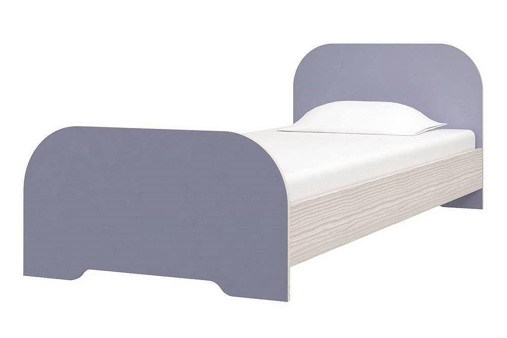 Кровать Мика СТЛ.165.03 Кварц индиго/Сосна Авола