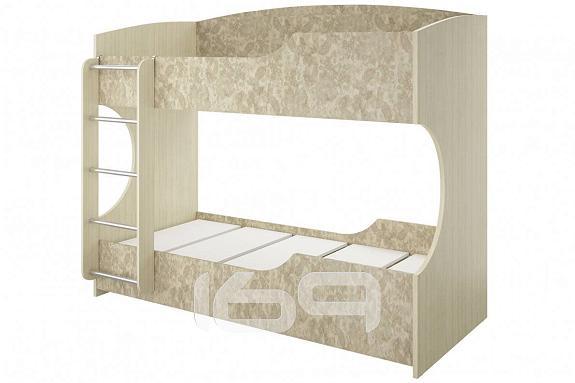 Купить Кровать 2-х ярусная Дженни СТЛ.127.15-01 Granite rose / Cilegio nostrano в интернет магазине. Цены, фото, описания, характеристики, отзывы, обзоры