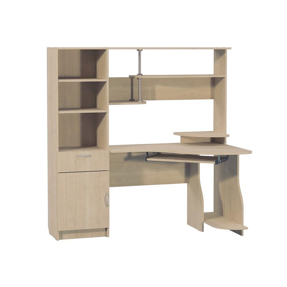 Купить со скидкой Компьютерный стол Комфорт 8 Дуб паллада
