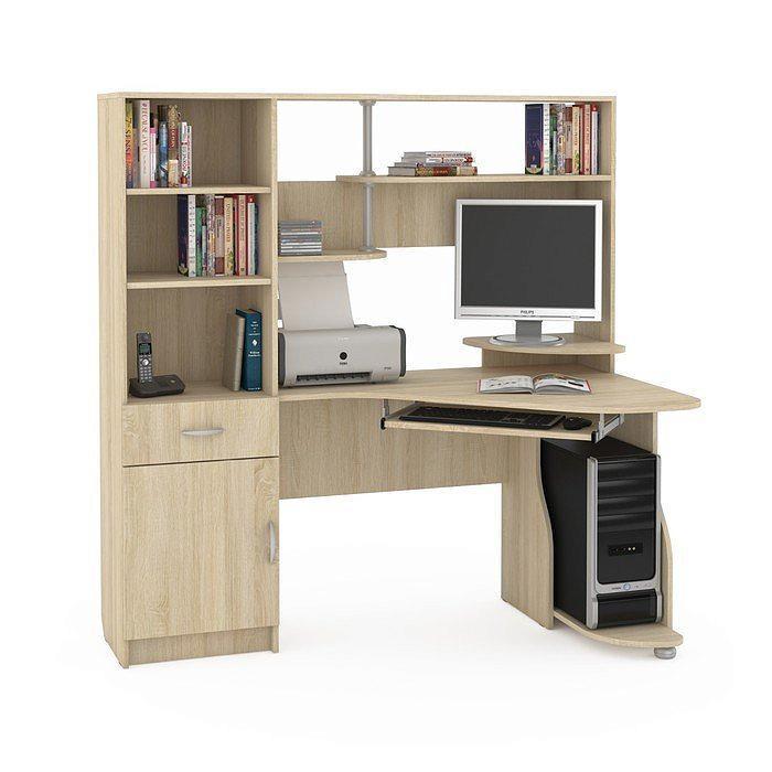 Компьютерный стол Комфорт 8 Дуб сонома