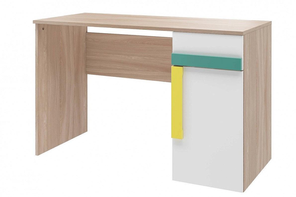Стол письменный Умка СТЛ.302.02 Белый/ Ясень лион песочный