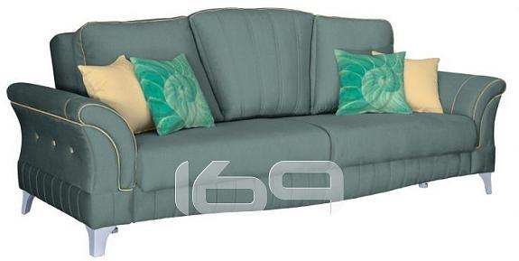 Купить Прямой диван-кровать Каролина Лекко минт/Лекко голд/Фибра Купон №4 море минт в интернет магазине. Цены, фото, описания, характеристики, отзывы, обзоры