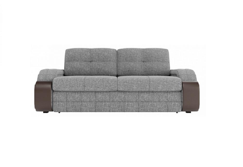 Прямой диван-кровать Николь Лаундж 13 серый/Фибра 2385/2 вьюнки/Витал Плам/Астор Кофе фото
