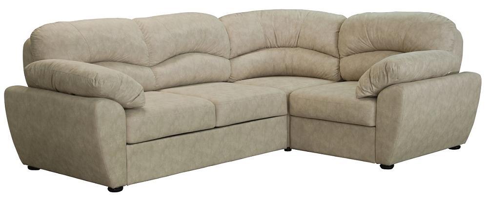 Угловой диван-кровать Фламенко Аллюре ивори фото