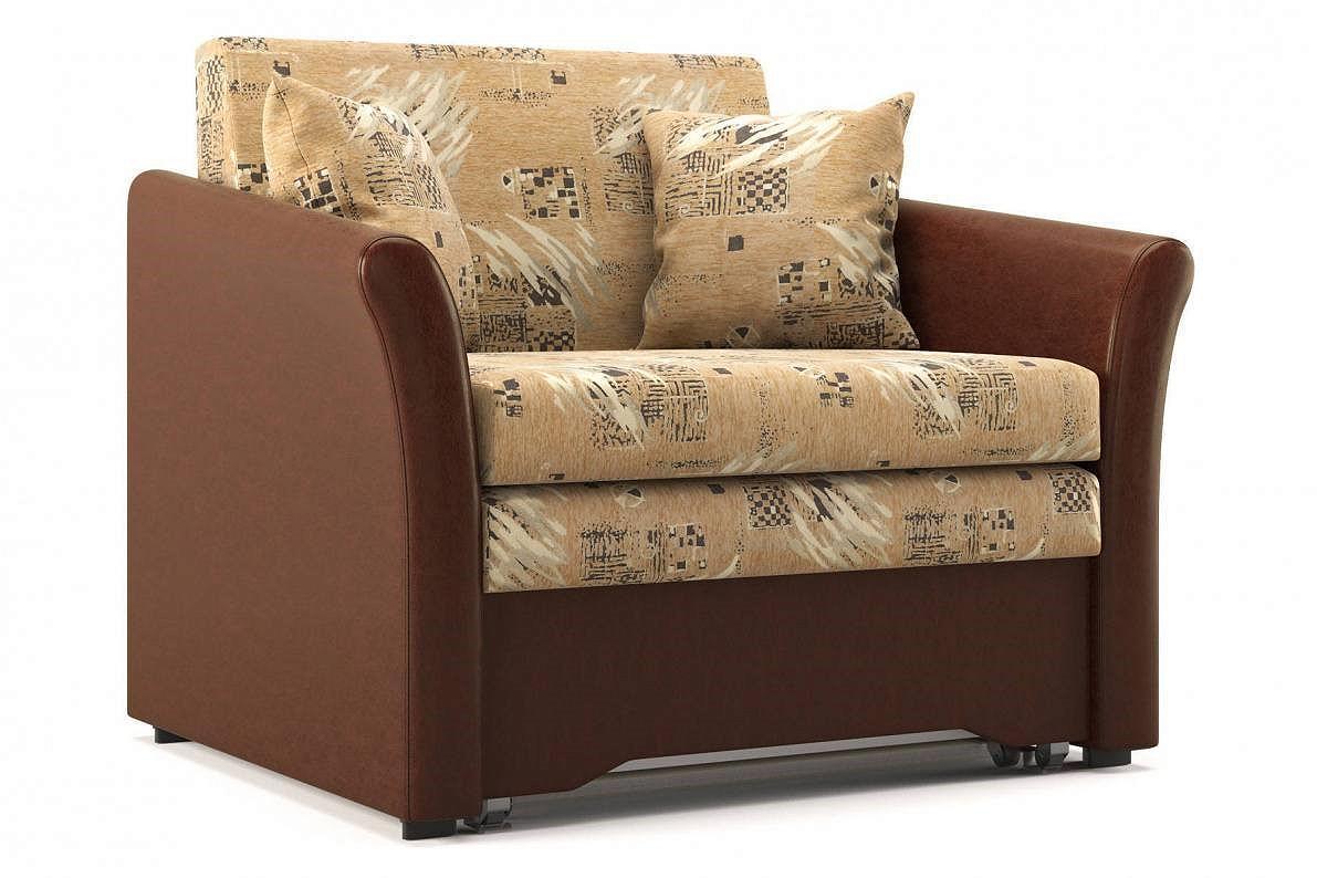 Кресло-кровать Аллегро Smash beige/Matrix cofe 316