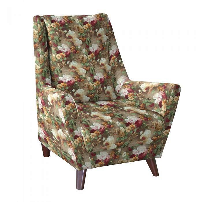 Кресло для отдыха Дали Фибра 2505/2 яркие цветы