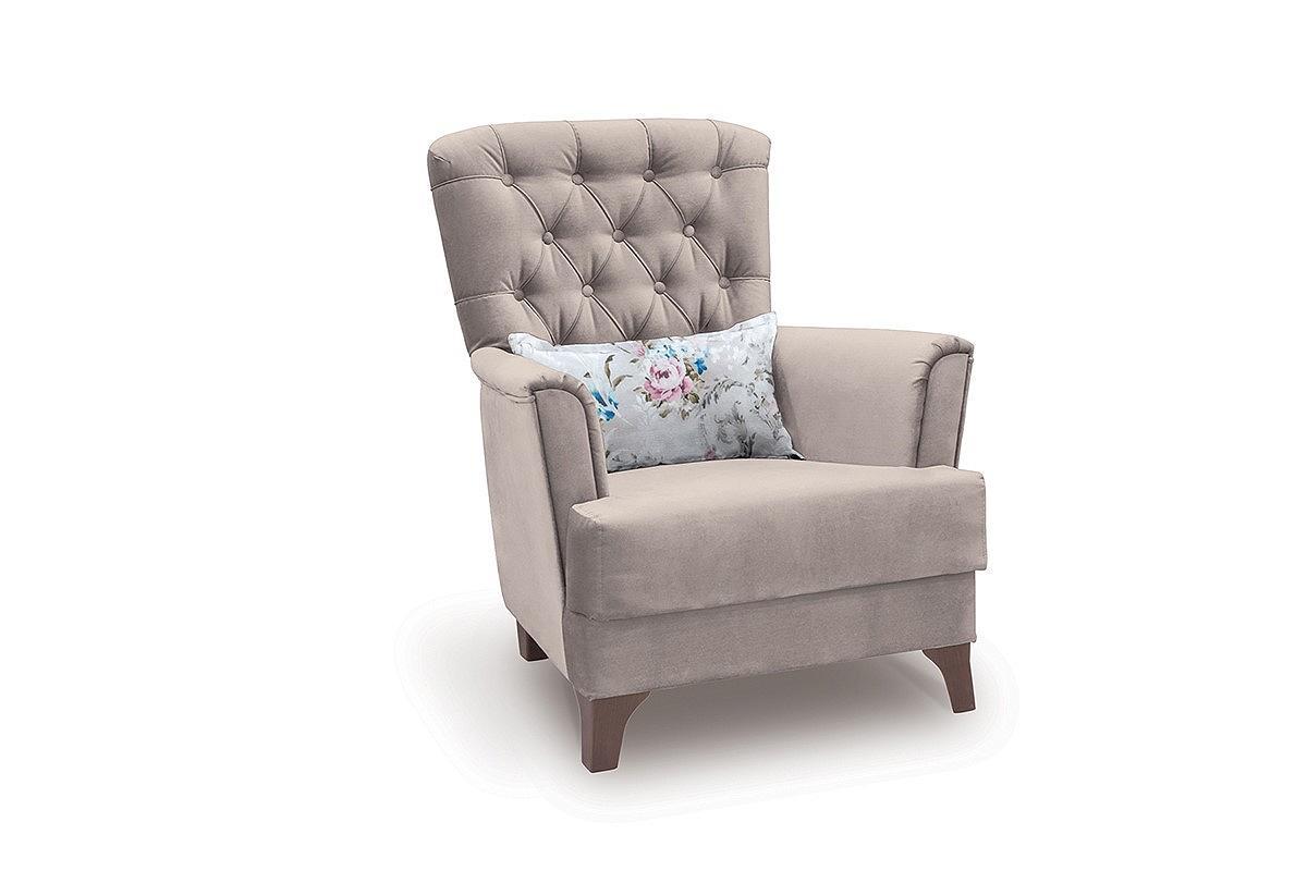 Купить со скидкой Кресло для отдыха Ирис Лекко фог/Фибра 2775-2 розы