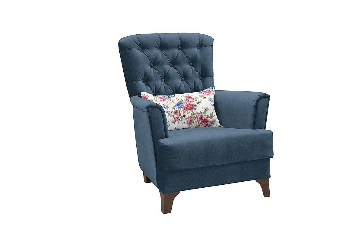 Кресло для отдыха Ирис Лекко океан/Фибра менуэт