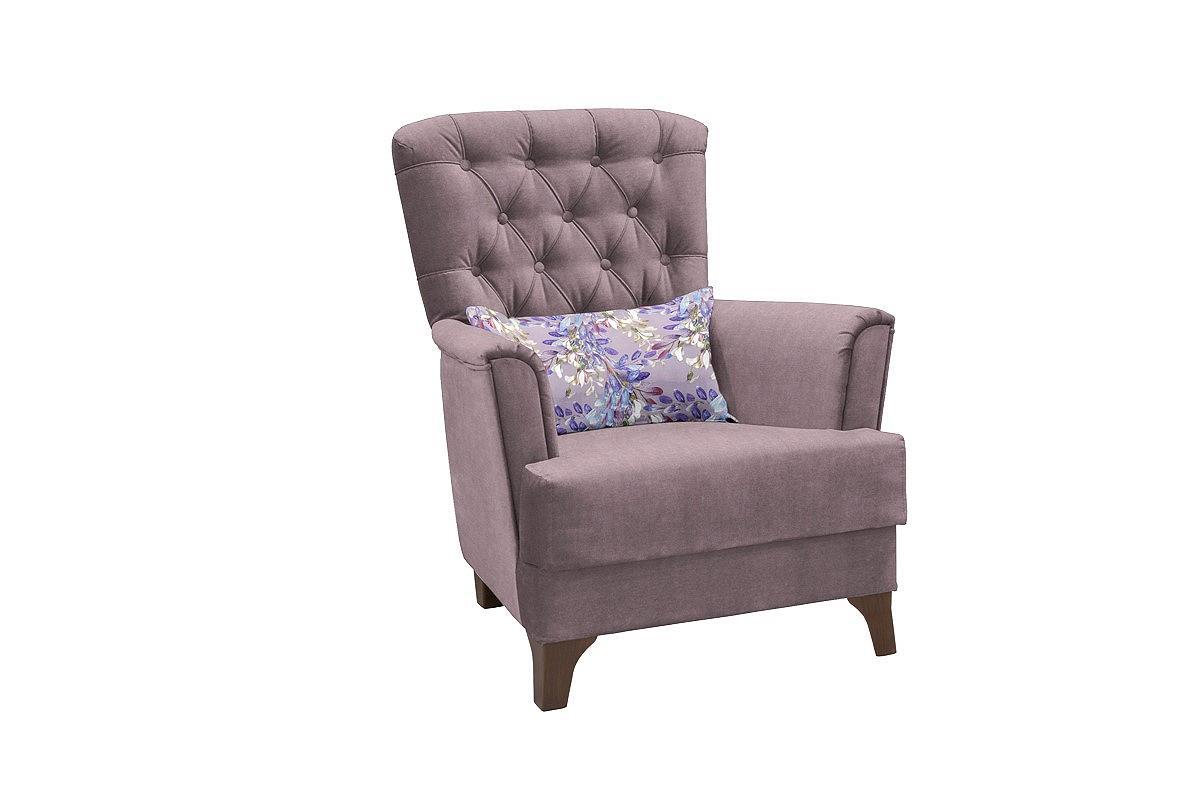 Кресло для отдыха Ирис Лекко ява/Фибра ветла