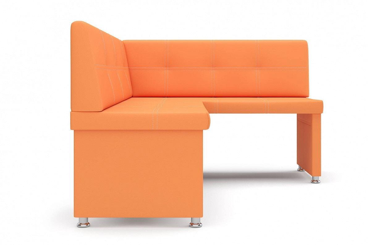Кухонный уголок правый Кантри оранжевый