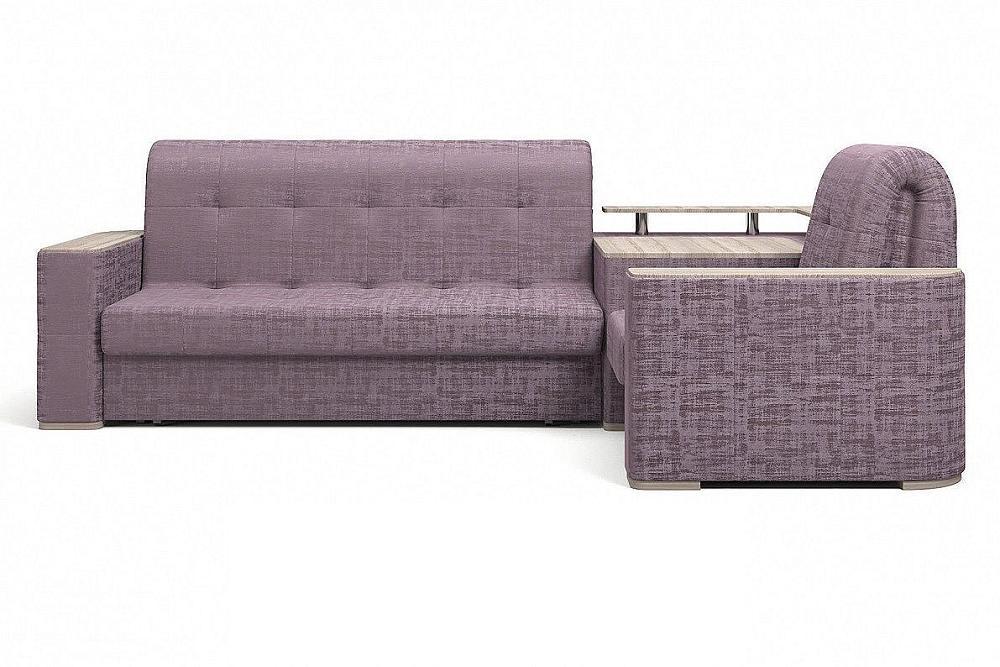 Прямой диван Ибица с креслом и столиком Camelot 11 фото