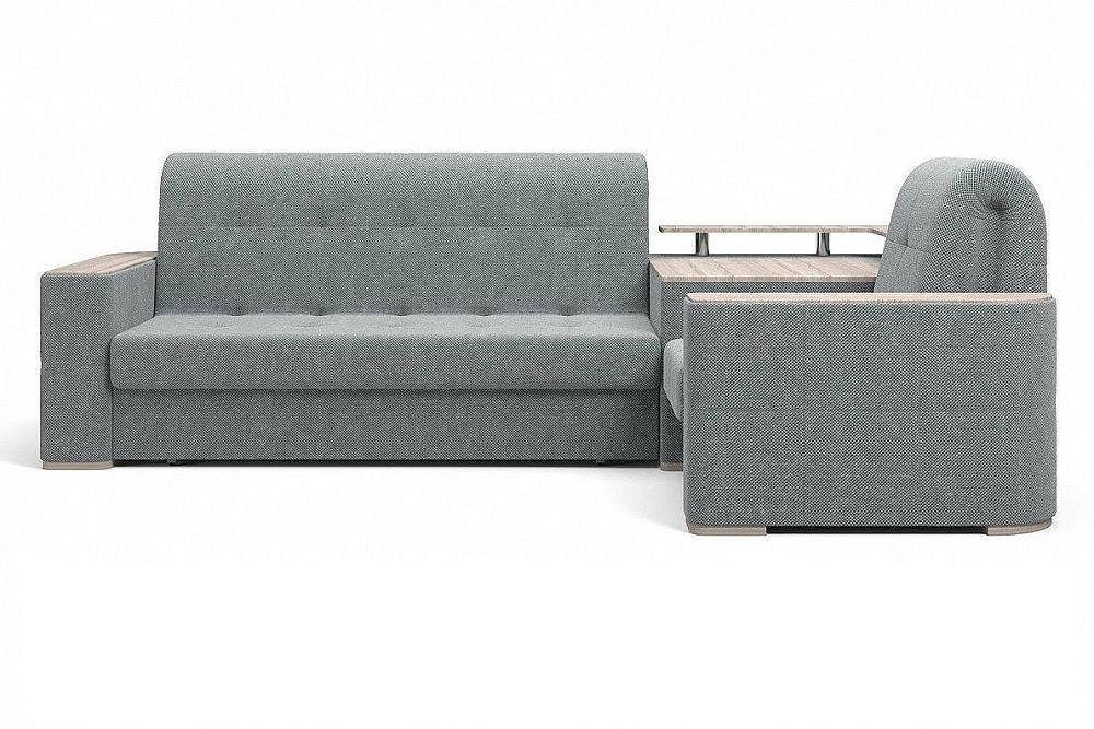 Прямой диван Ибица с креслом и столиком Doris 03 фото