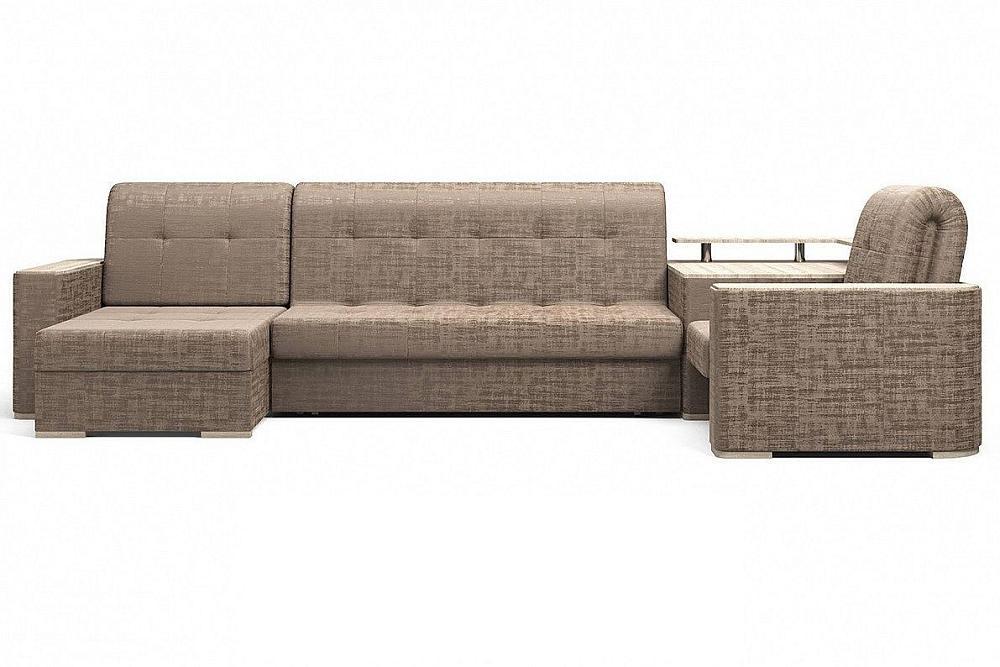 Угловой диван Ибица с креслом и столиком Camelot 09 фото