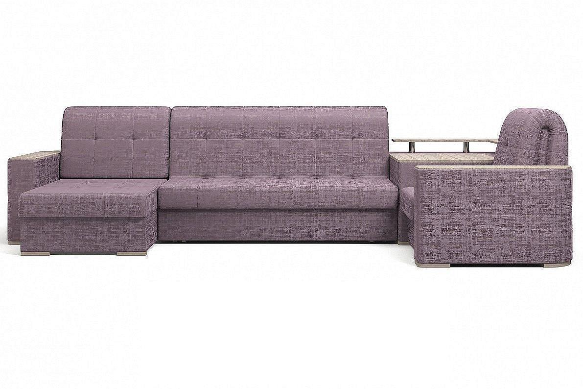 Угловой диван Ибица с креслом и столиком Camelot 11