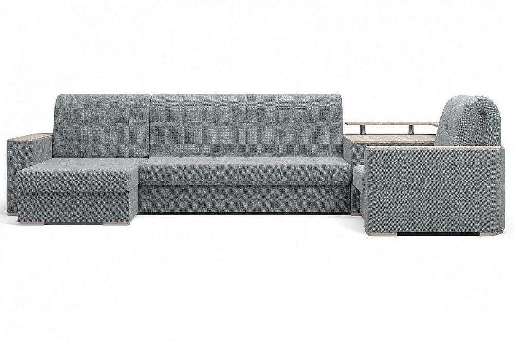 Угловой диван Ибица с креслом и столиком Doris 03 фото