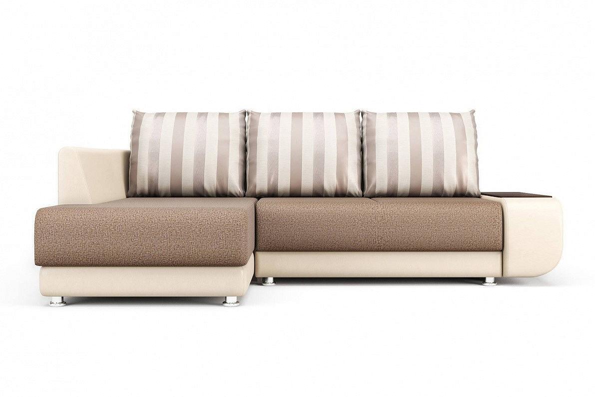 Угловой диван Бруно (левый) Mika 10/Paloma 7650