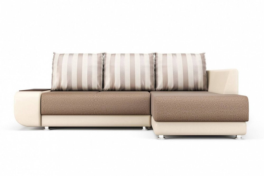 Угловой диван Бруно (правый) Mika 10/Paloma 7650 фото