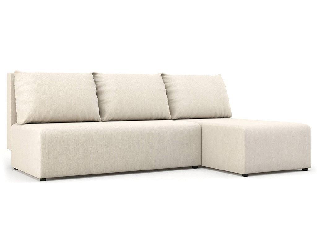 Угловой диван Комо белый