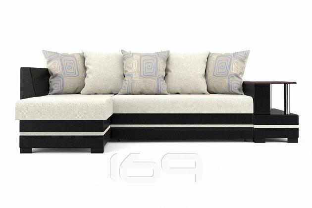 Угловой диван с барной стойкой