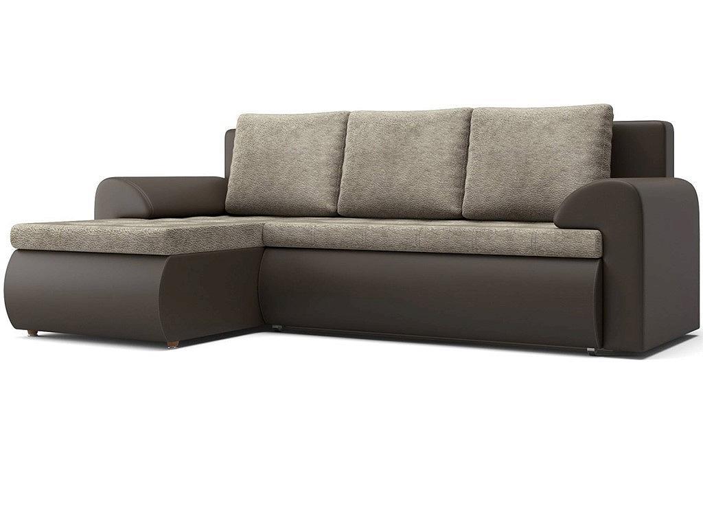 Угловой диван левый Цезарь (11) KUM 034/Kolej cp 536