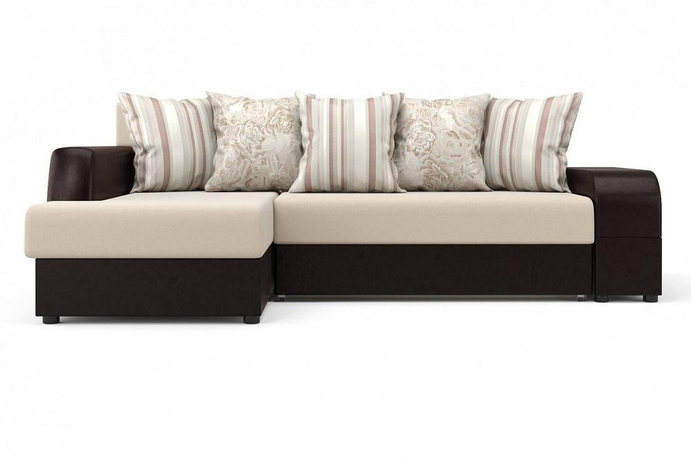 Угловой диван Марго (левый) Оптима 110/Kolej cp 536 фото