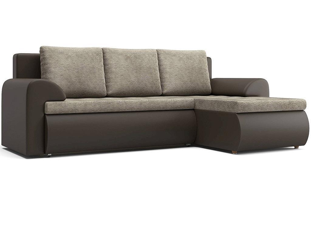 Угловой диван правый Цезарь (12) KUM 034/Kolej cp 536